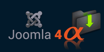 Download Joomla 4 Alpha Release