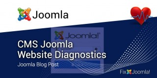 CMS Joomla Website Diagnostics
