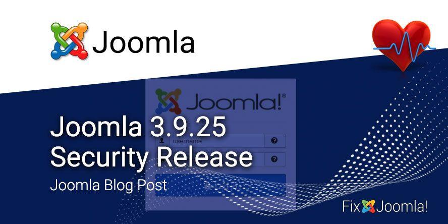 Joomla-3-9-25-Security-Release