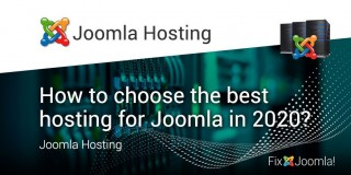 How to choose the best hosting for Joomla in 2020?